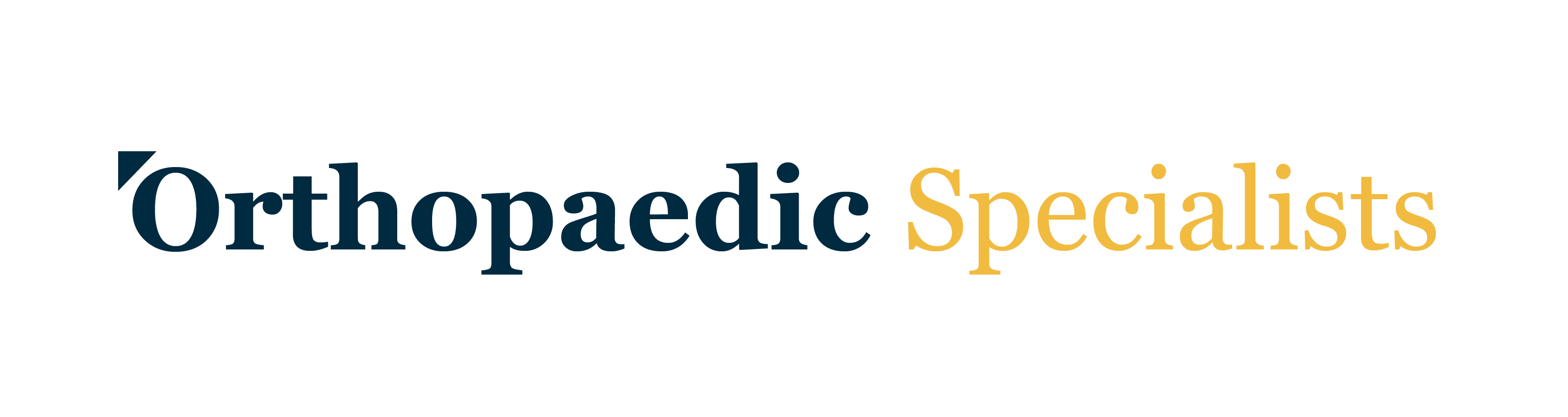 Orthopaedic Specialists